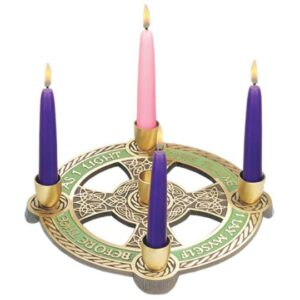 Advent Wreath: As I Light This Flame I Lay Myself Before Thee