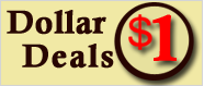 Dollar Deals - All items one dollar