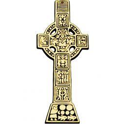 Celtic Bronze Irish Cross Letter Opener 664