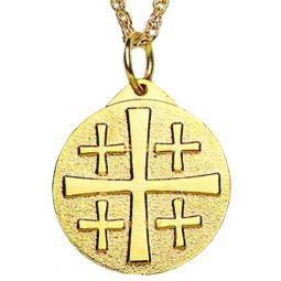 Red Crusaders Cross | Red Jerusalem Cross | Terra Sancta Guild