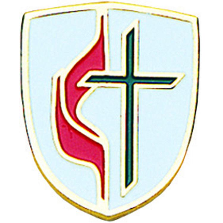 United Methodist Stained Glass Key Ring: Terra Sancta Guild
