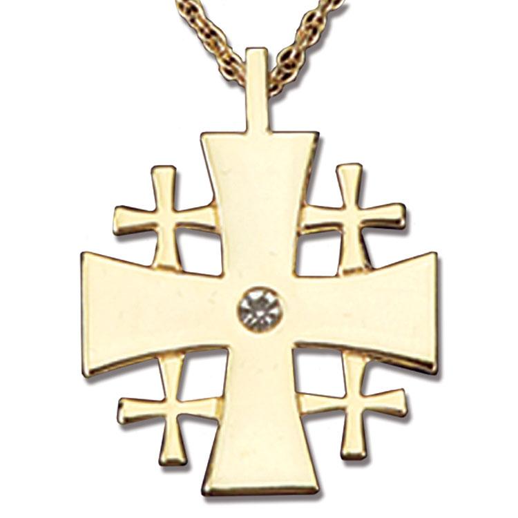 Jeweled Jerusalem Cross Jerusalem Crosses Terra Sancta